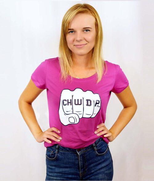 Koszulka bawełniana damska