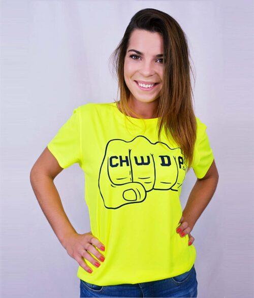 koszulka sportowa damska